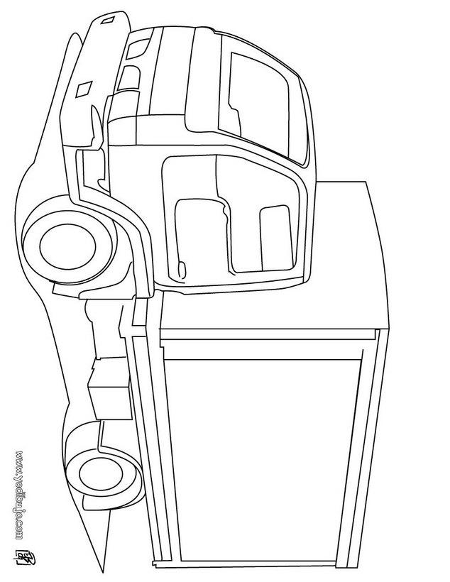 Dibujos para colorear CAMION - 29 dibujos de camion para colorear y ...