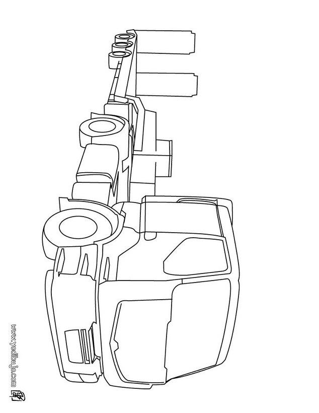Dibujos para colorear un monster truck - es.hellokids.com