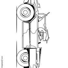 Dibujo coche Jeep - Dibujos para Colorear y Pintar - Dibujos para colorear VEHICULOS - Dibujos para colorear COCHES - Dibujos para colorear CARROS