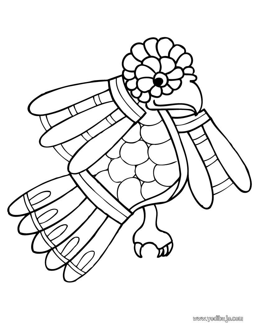 Dibujos para colorear una codorniz prehispanica es for Cenefas para dibujar