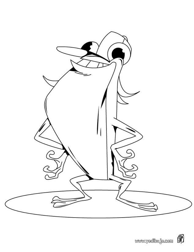 la rana con pesas dibujo la rana chistosa dibujos para colorear y pintar dibujos para colorear animales