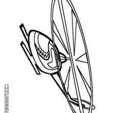 Dibujo helicoptero infantil - Dibujos para Colorear y Pintar - Dibujos para colorear MEDIOS DE TRANSPORTE - Dibujos para colorear HELICOPTEROS