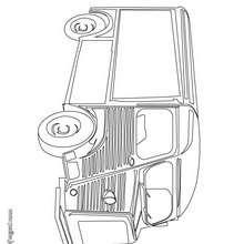 Dibujo para colorear : Camioneta