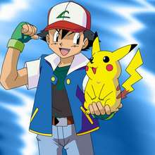 POKEMON: fondo Ash y Pikachu