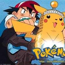 POKEMON: fondo Pikachu y Ash