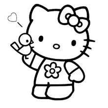 hello kitty beso