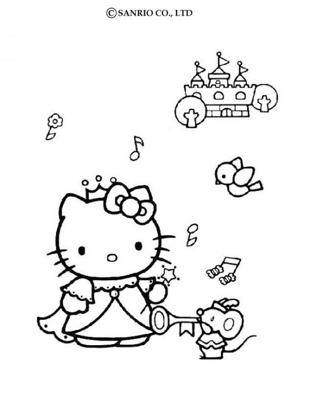 Colorear la princesa y el castillo en los juegos apexwallpapers com
