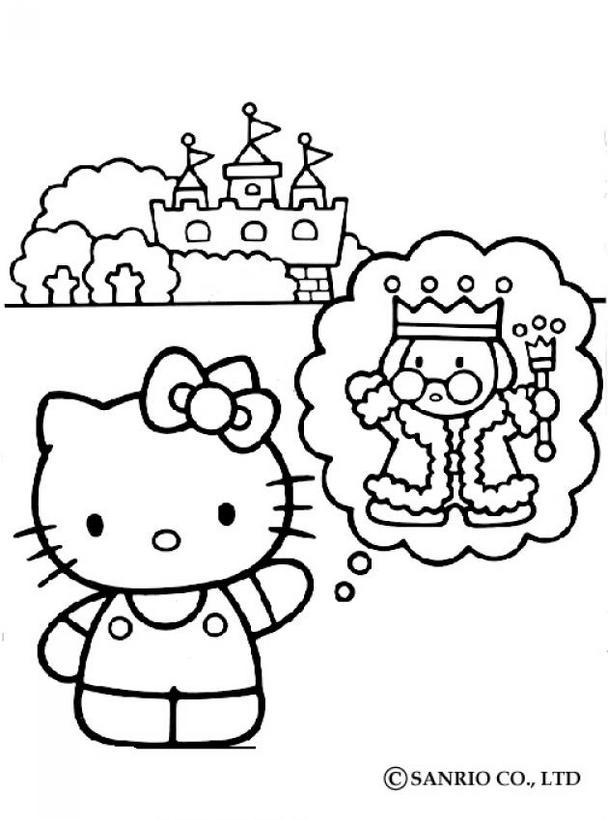 Dibujos Para Colorear Hello Kitty Y Sus Amigos Eshellokidscom