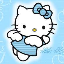 Fondo de pantalla : Fondo hello kitty ángel