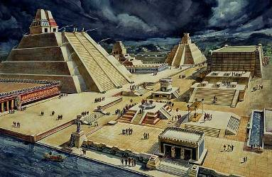 Tenochtitlan-dibujo