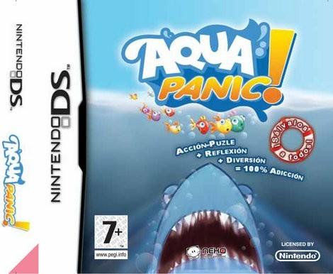 AquaPanic DS - Juegos divertidos - CONSOLAS Y VIDEOJUEGOS