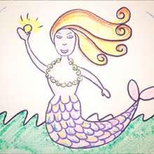 Aprender a dibujar : Dibuja una sirena