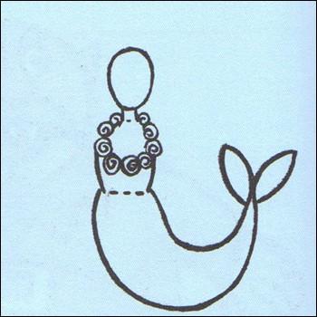 Aprender a dibujar dibuja una sirena  eshellokidscom