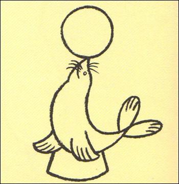 Este es el dibujo de otario de circo de Manuel... ¡Envianos el tuyo!