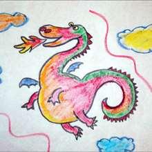 Aprender a dibujar : Dibuja un dragón