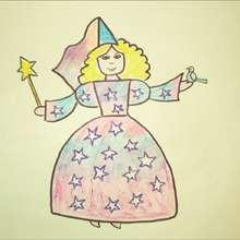 Dibuja un hada - Dibujar Dibujos - Aprender cómo dibujar paso a paso - Dibujar dibujos PERSONAJES - Dibujar personajes de cuentos