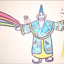 Aprender a dibujar : Dibuja a un mago