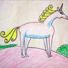 Dibuja un unicornio