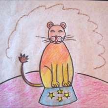 Dibuja una fiera del circo - Dibujar Dibujos - Aprender cómo dibujar paso a paso - Dibujar dibujos PERSONAJES - Dibujar personajes del circo