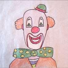 Aprender a dibujar : Dibuja a un payaso