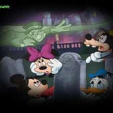 Fondo halloween fantasmas Disney