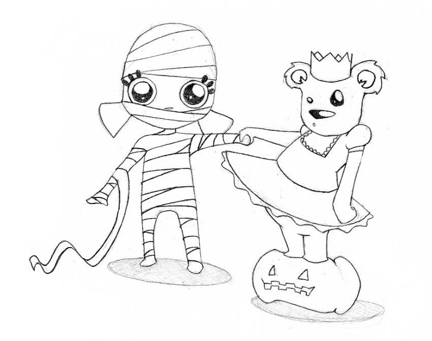 Dibujo De Fantasma Tenebroso Para Colorear: 301 Moved Permanently