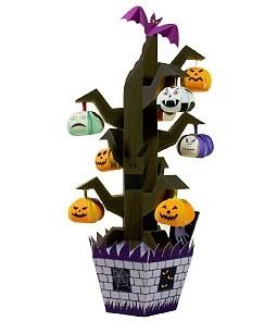 casa de papel para halloween rbol de halloween manualidades para nios halloween manualidades adornos halloween - Adornos Halloween