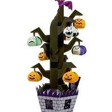 Manualidad infantil : Árbol de Halloween