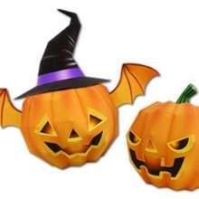 Farolitos de Halloween - Manualidades para niños - Papiroflexia facil - Personajes de papel para HALLOWEEN