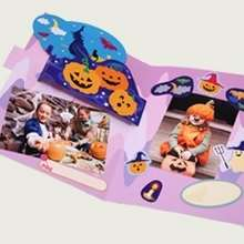Manualidad infantil : Album Pop-up de Halloween en 2D