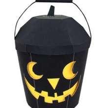 Manualidad infantil : Cesta de Halloween