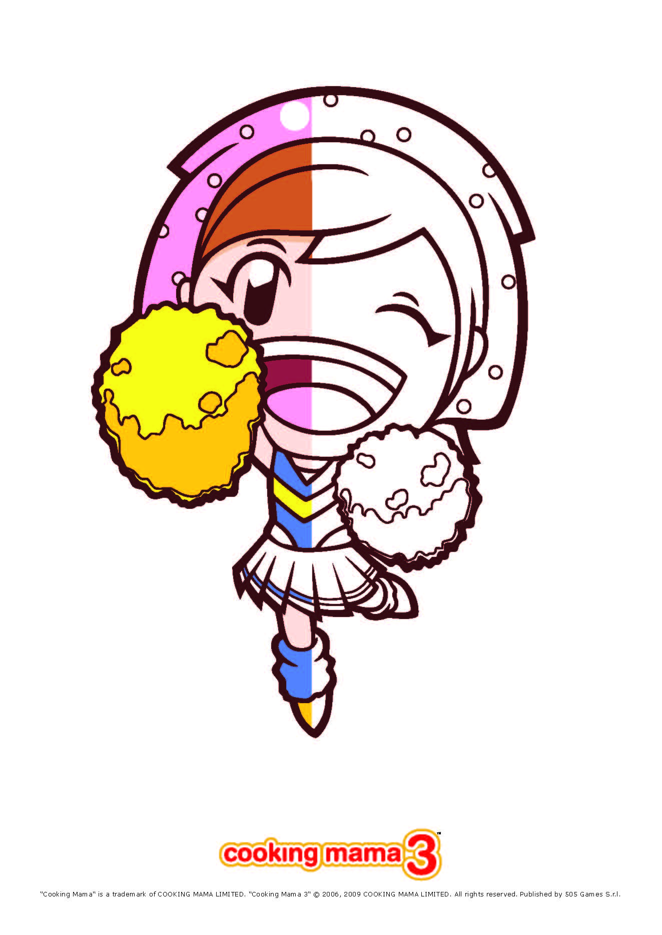 Dibujos para colorear cooking mama semi color - es.hellokids.com