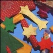 Anillos para servilleta navideños - Estrellas - Manualidades para niños - Manualidades NAVIDEÑAS - ADORNOS NAVIDEÑOS - DECORACION PARA NAVIDAD