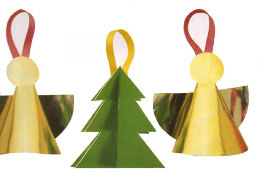 Actividades manuales de suspensiones navideñas para el Árbol - es ...