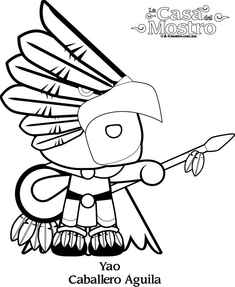 Dibujos para colorear yao - es.hellokids.com