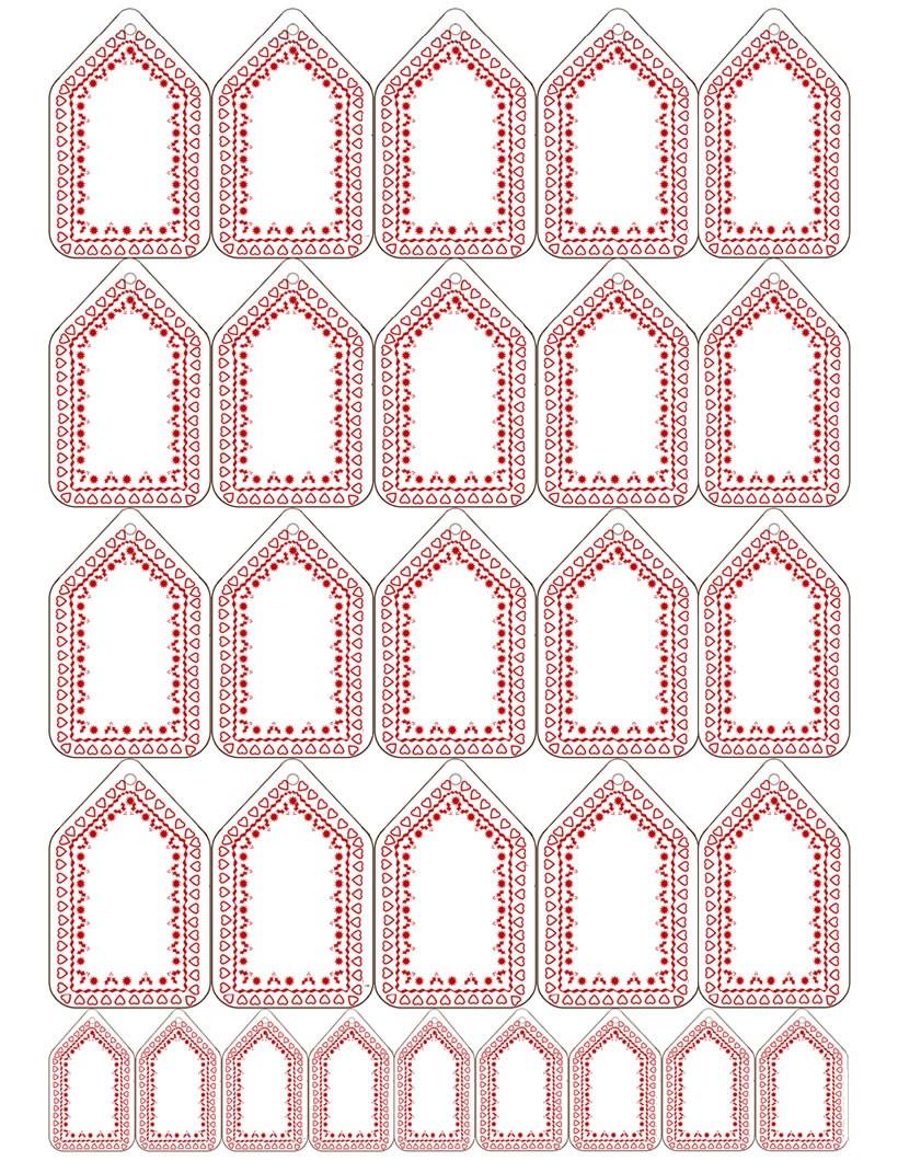 Search results for tarjeta navide a para colorear - Etiquetas para regalos para imprimir ...