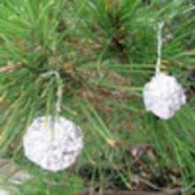 Bolas de aluminio para el Árbol de Navidad - Manualidades para niños - Manualidades NAVIDEÑAS - ADORNOS NAVIDEÑOS - DECORACION PARA NAVIDAD