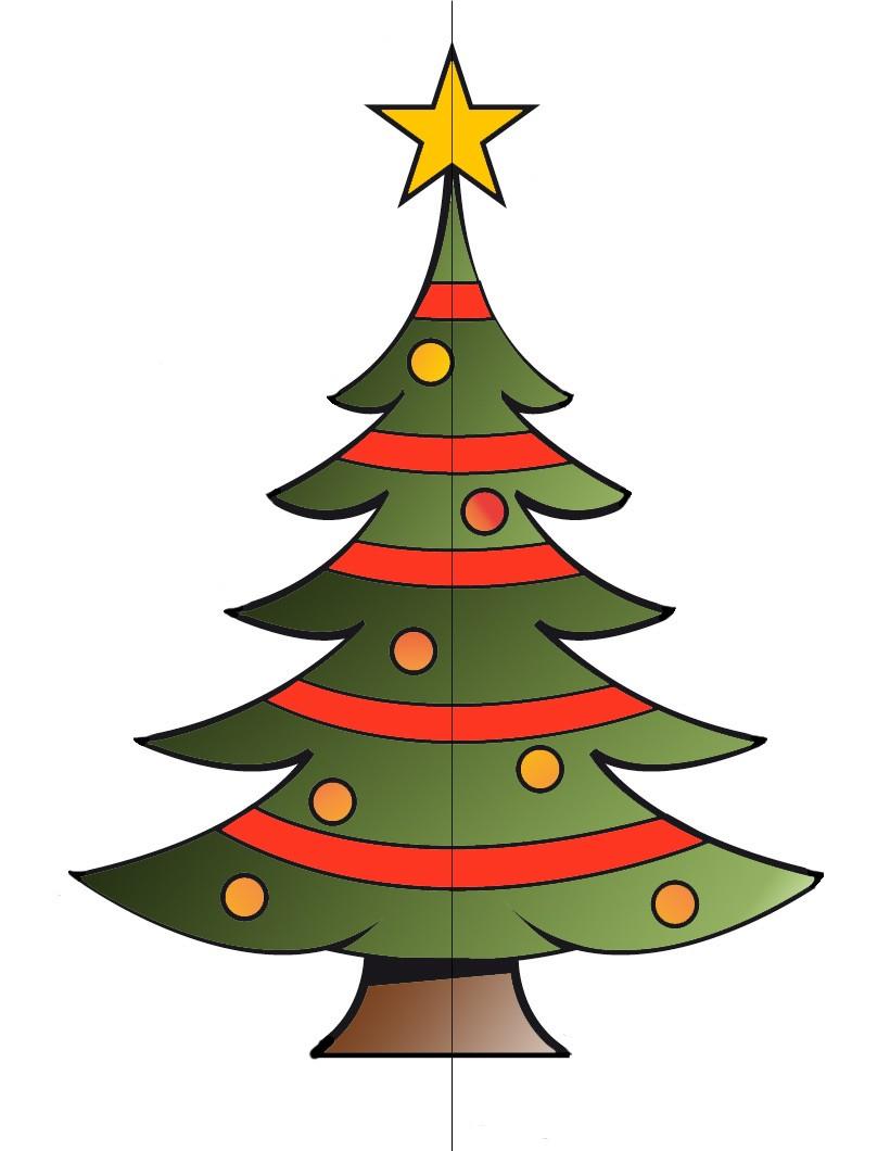Actividades manuales de rbol de navidad 3d eshellokidscom
