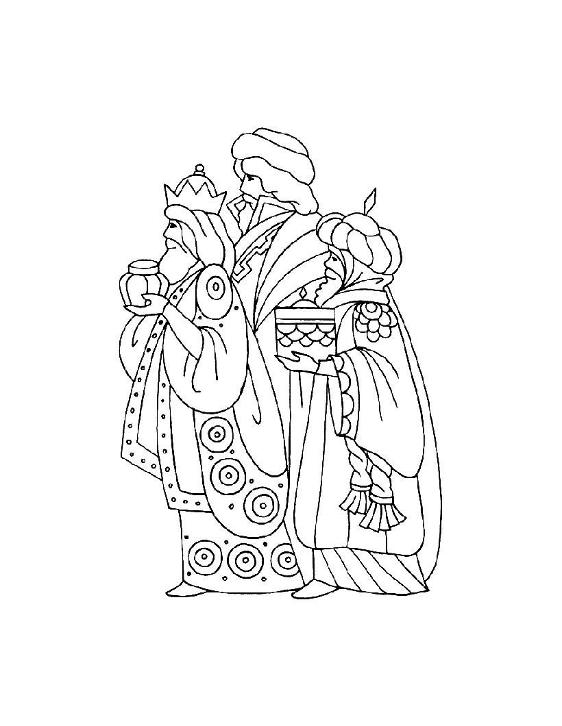 Dibujos para colorear baltasar de los reyes magos  eshellokidscom