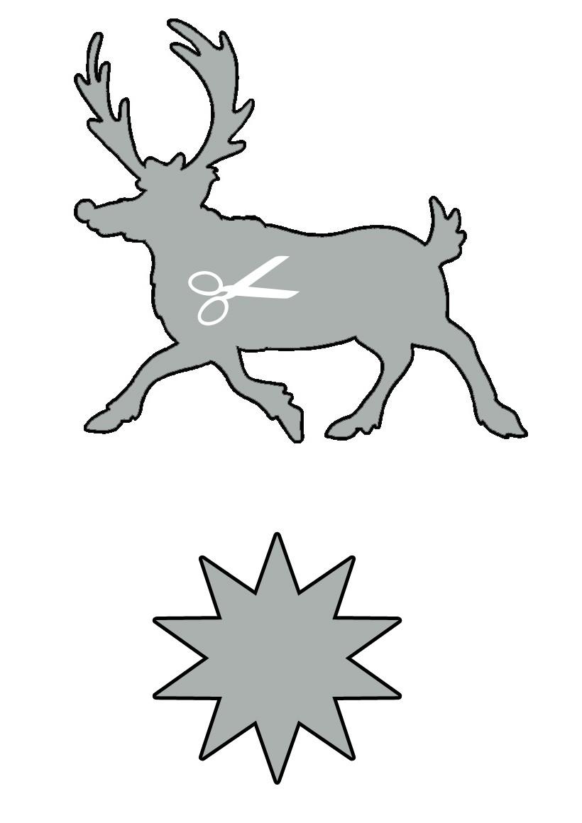 Actividades manuales de reno de navidad - es.hellokids.com