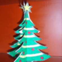 Árbol de Navidad 3D - Manualidades para niños - Manualidades NAVIDEÑAS - ADORNOS NAVIDEÑOS - DECORACION PARA NAVIDAD