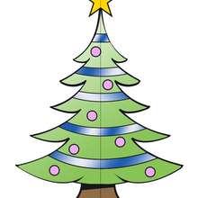 Plantilla 3: Árbol de Navidad 3D - Manualidades para niños - Manualidades NAVIDEÑAS - ADORNOS NAVIDEÑOS - DECORACION PARA NAVIDAD