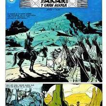 Dibujo comic Yakari pagina1