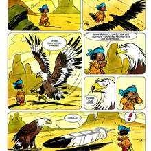 Dibujo comic Yakari pagina2