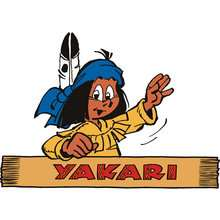 Dibujo Yakari-indio