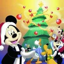 Fondo de Navidad MICKEY - Dibujar Dibujos - Dibujos para DESCARGAR - FONDOS GRATIS - Fondos NAVIDAD - Fondos de pantalla NAVIDAD