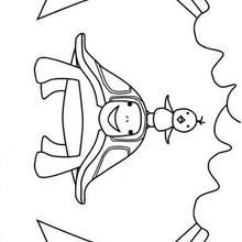 Dibujos para colorear tortuga sonriendo - Dibujos para Colorear y Pintar - Dibujos para colorear ANIMALES - Dibujos REPTILES para colorear - Colorear dibujos TORTUGA - Dibujos para imprimir TORTUGAS