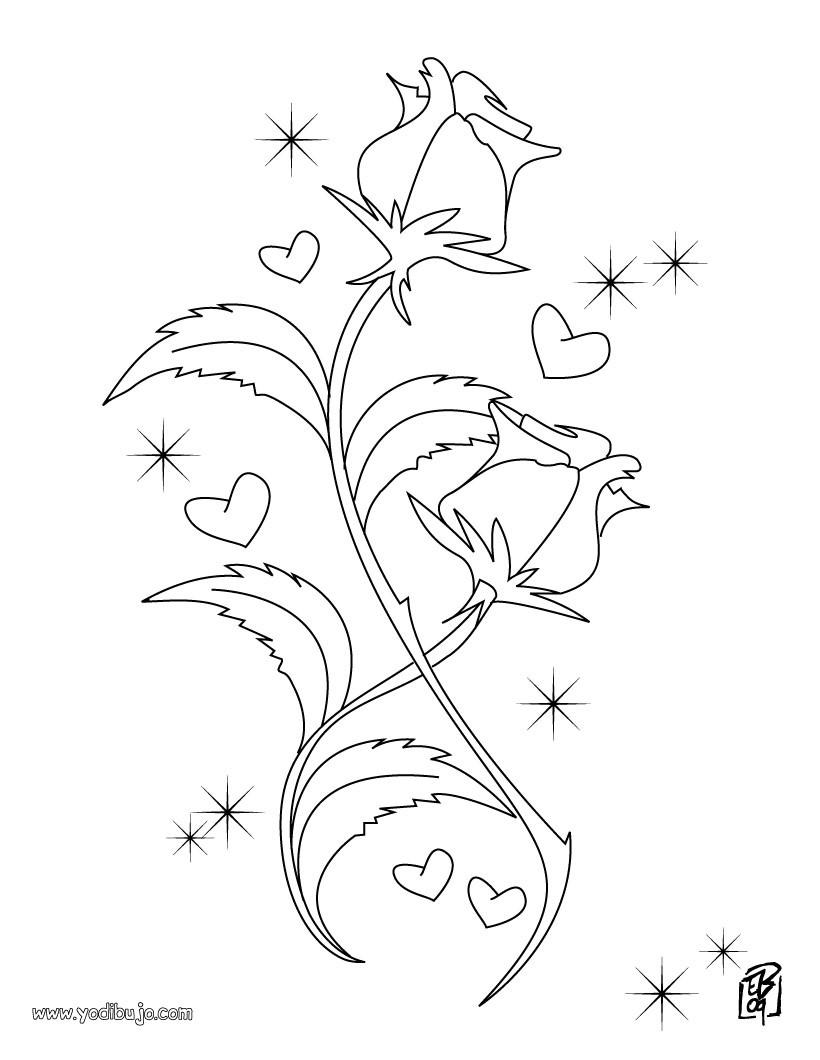 Dibujos para colorear love es amor - es.hellokids.com