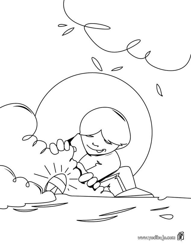Dibujos para colorear huevos escondidos - es.hellokids.com