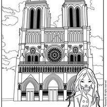 Dibujo para colorear JEANNE POESIE NOTRE DAME DE PARIS - Dibujos para Colorear y Pintar - Dibujos para colorear PERSONAJES - Dibujos para colorear y pintar PERSONAJES - MUSEWORLD para colorear - Dibujos para colorear JEANNE POESIE EN PARIS